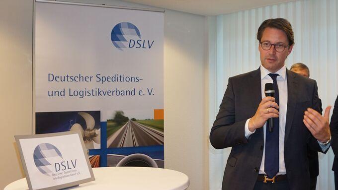 Andreas Scheuer, CSU, DSLV-Frühjahrsempfang