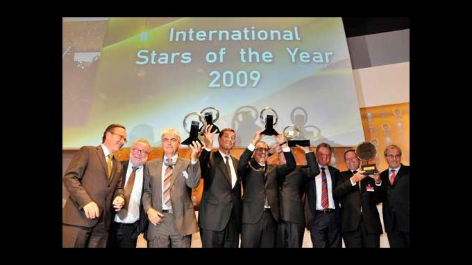 Auf der IAA kürten Experten ihre Favoriten zu den Siegern. Darunter Mercedes-Benz, Fiat/PSA und Setra.