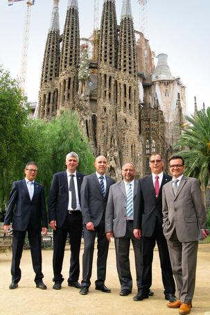 Ausbildung, Intermezzo in Barcelona