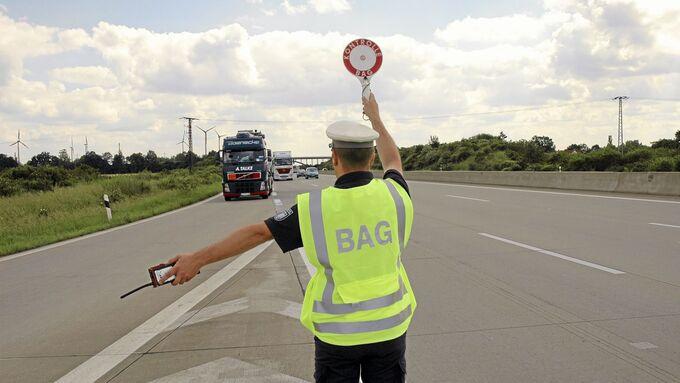 BAG, Autobahn, Kontrolle