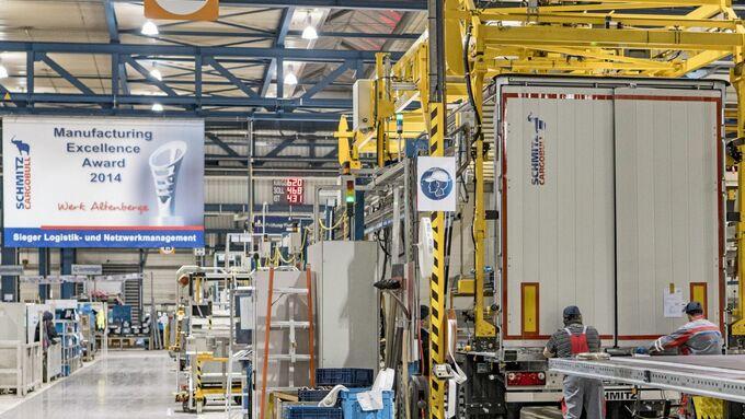 Besuch bei Schmitz Cargobull AG
