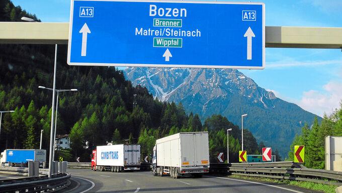 Bozen, Verkehr, Alpenraum