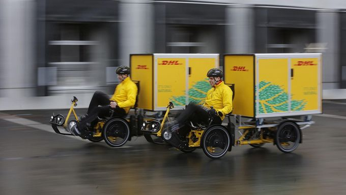 Cubicycle, Deutsche Post DHL