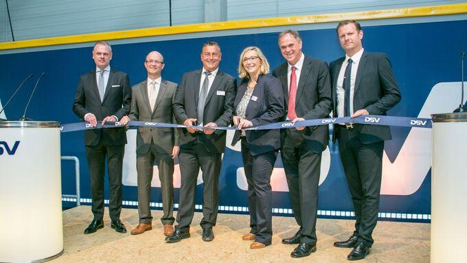 DSV Eröffnung, Westerkappeln, Logistikanlage
