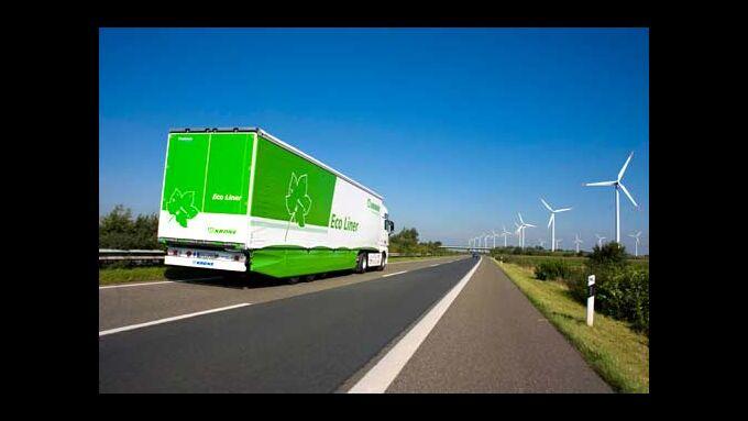 Der Eco Liner spart bis zu sieben Prozent Kraftstoff ein.
