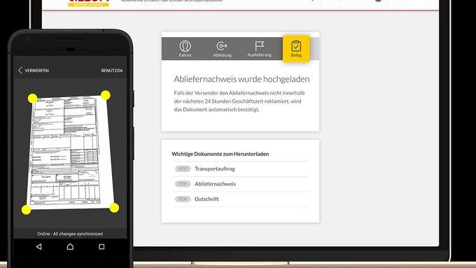 Der digitale Marktplatz von DHL nennt sich CILLOX.