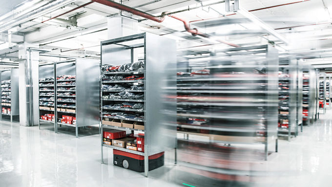 Digitalisierung, Automatisierung, Logistik