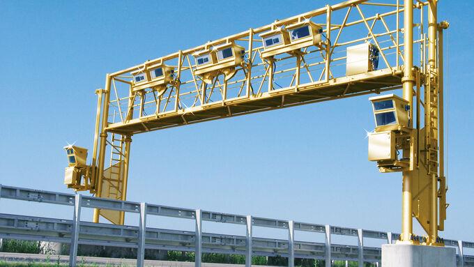 Goldene Brücke, Lkw-Maut