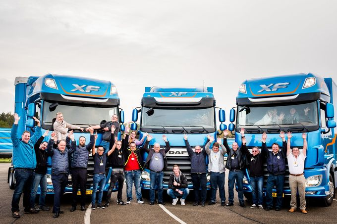 Gruppenbild Fahrerstimmen DAF XF