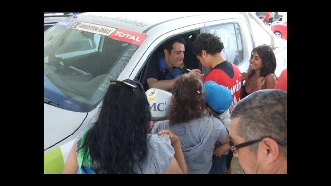 Halbzeit bei der Rallye Dakar