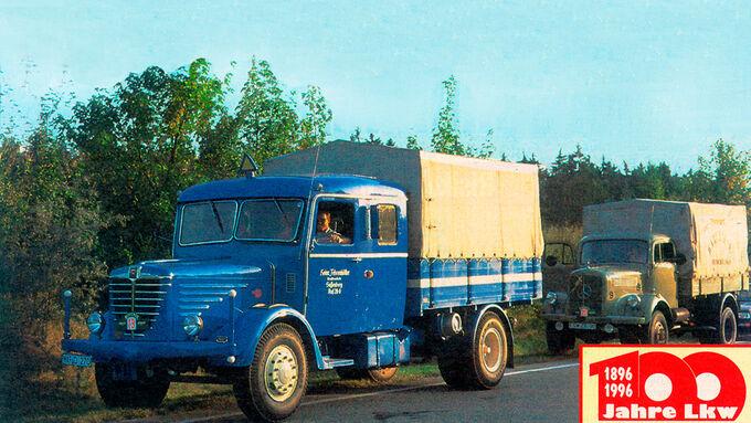 Ifa-Lkw vom Typ W 50