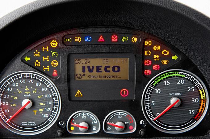 Iveco Eurocargo Hybrid 75E16, Instrumentendesign