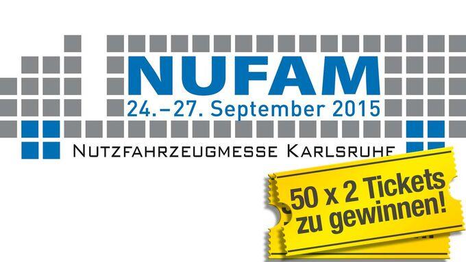 Jetzt 50 x 2 Tickets zu NUFAM 2015 gewinnen