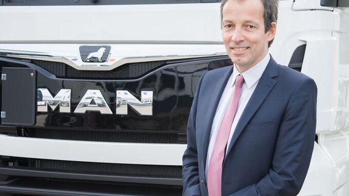 Jörn Kerl, CEO MAN Financial Services