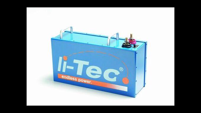 Li-Tec erhöt seine Kapazität