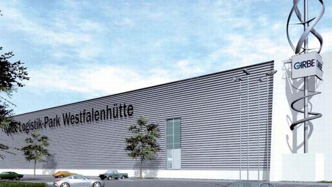 Logistikpark, Westfalenhütte, Dortmund, Animation, Garbe Logistic