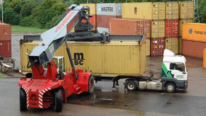 Nach Rückgang nimmt Güterverkehr wieder Fahrt auf