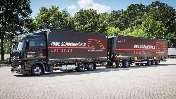 Paul Schockemöhle Logistics, Lang-Lkw