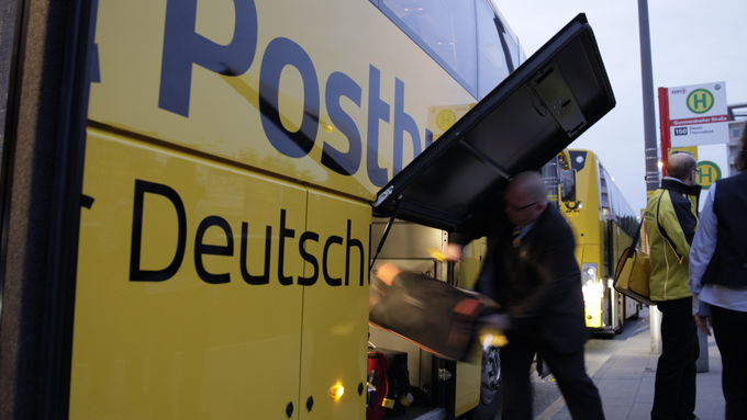 Postbus Jungfernfahrt