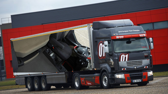 Renault bringt Sondermodell Truck Racing