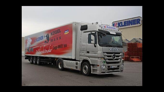 Trucker bringen Hilfe für Kinder