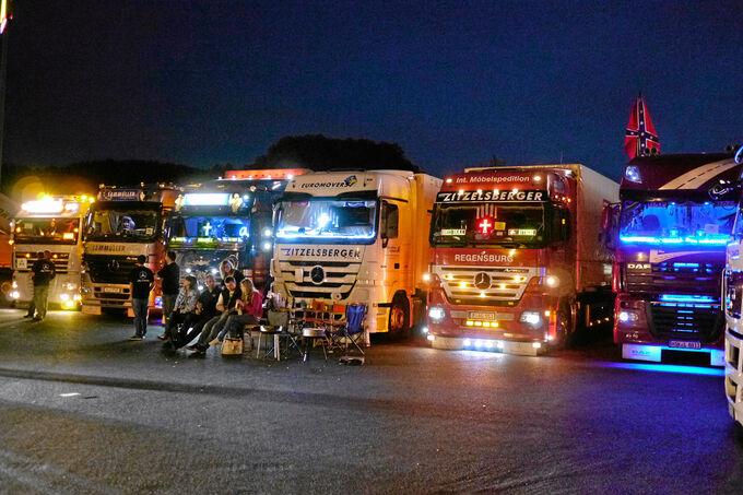 Trucker- und Country-Festival in Geiselwind, Relaxen