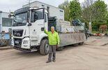 Truckjob Gartengestaltung MAN TGS 35.480