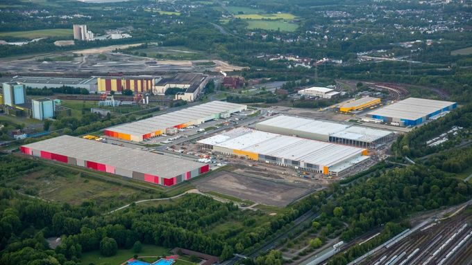 Westfalenhütte, Logistik-Immobilien, E-Commerce, Ruhrgebiet, Dortmund, Amazon