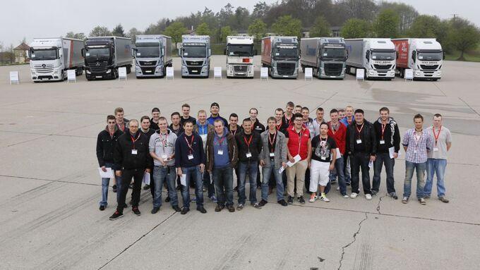 Young Professionals Truck Award 2013, Münsingen
